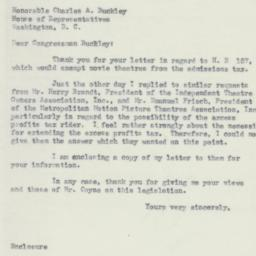 Letter: 1953 June 24