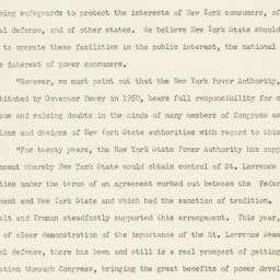Press Release: 1951 October 3