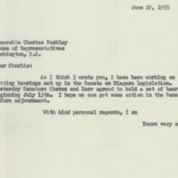Letter: 1955 June 29