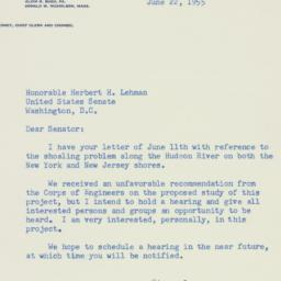 Letter: 1955 June 22
