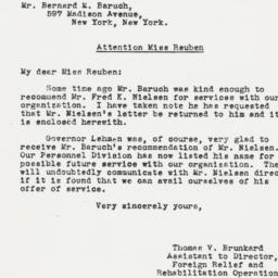 Letter: 1943 January 28