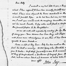 Document, 1786 March 20