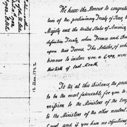 Document, 1782 December 12