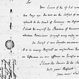 Document, 1779 April 28
