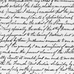 Document, 1795 October 10
