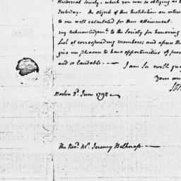 Document, 1792 June 02