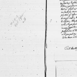 Document, 1784 February 22