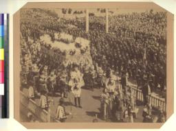Ceremonial Procession for Coronation of Nicholas II