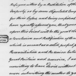 Document, 1782 November 05