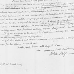 Document, 1804 January 28