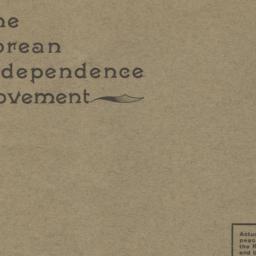 Korean Independence Movemen...
