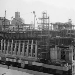 Butler Library Construction 18