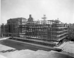 Butler Library Construction 12