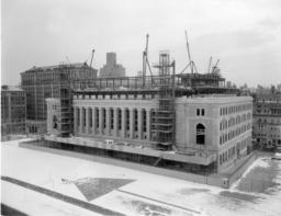 Butler Library Construction 21