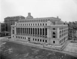 Butler Library Construction 27