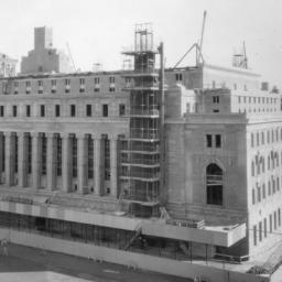 Butler Library Construction 23