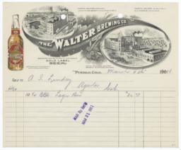 Walter Brewing Co. Bill