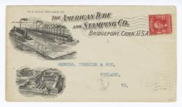 American Tube & Stamping Co.. Envelope - Recto