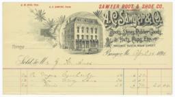A. C. Sawyer & Co.. Bill - Recto