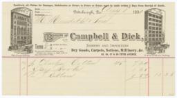 Campbell & Dick. Bill - Recto