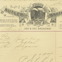 Butler Brothers. Bill