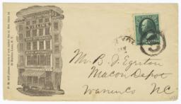 John F. Stratton & Co.. Envelope - Recto