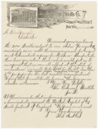 American Needle Co.. Letter - Recto