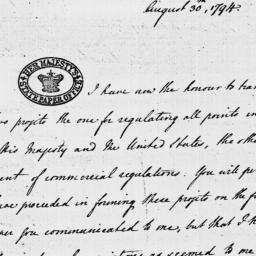 Document, 1794 August 30