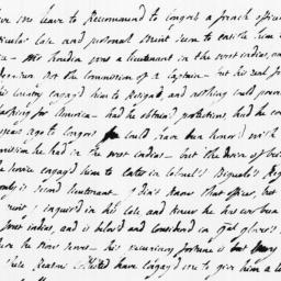 Document, 1779 January 08