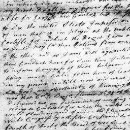 Document, 1779 January 14