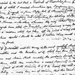 Document, 1781 November 28