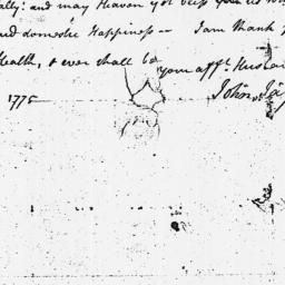 Document, 1775 December 08