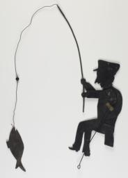 Fisherman And Fish Shadow Puppet