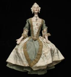 Elegant Eighteenth-century Female Marionette
