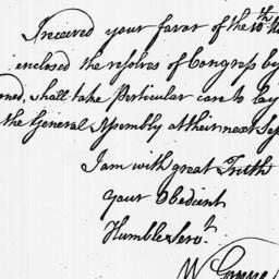 Document, 1779 February 04