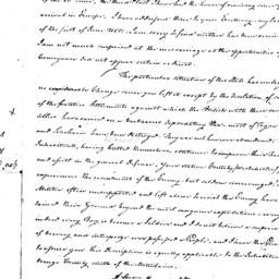 Document, 1781 April 6