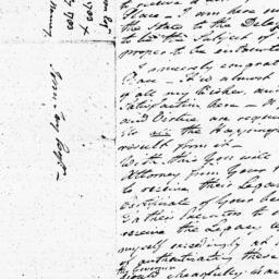 Document, 1783 April 25