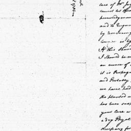Document, 1784 April n.d.