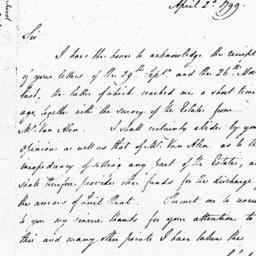 Document, 1799 April 02
