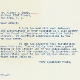 Letter: 1941 October 10
