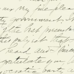 Letter: 1941 October 27