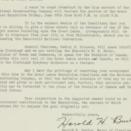 Letter: 1936 June 13