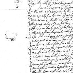 Document, 1781 August n.d.