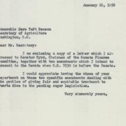 Letter: 1956 January 24