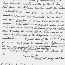 Document, 1786 May 23