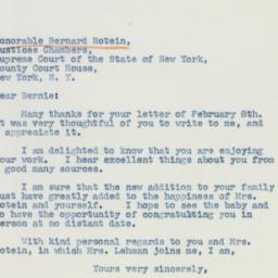 Letter: 1942 February 11