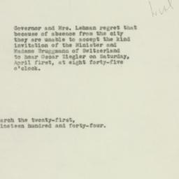 Letter: 1944 March 21