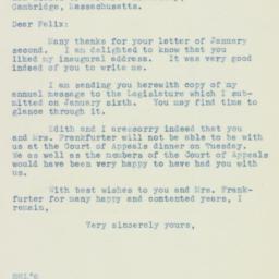 Letter: 1937 January 11