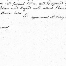 Document, 1785 October 22