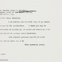 Letter: 1938 January 8